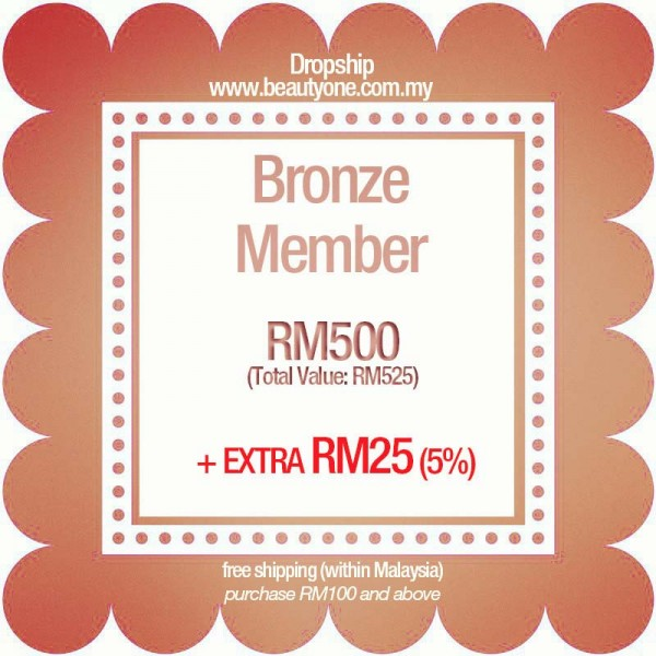 Bronze (EXTRA RM25+SHIPPING)
