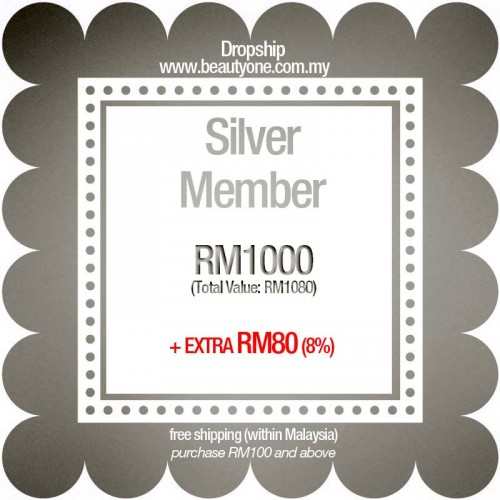 Silver (Extra RM80 + Free Shipping)