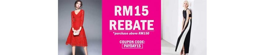 coupon rm15