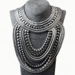 Silver Tribal Fancy Necklace