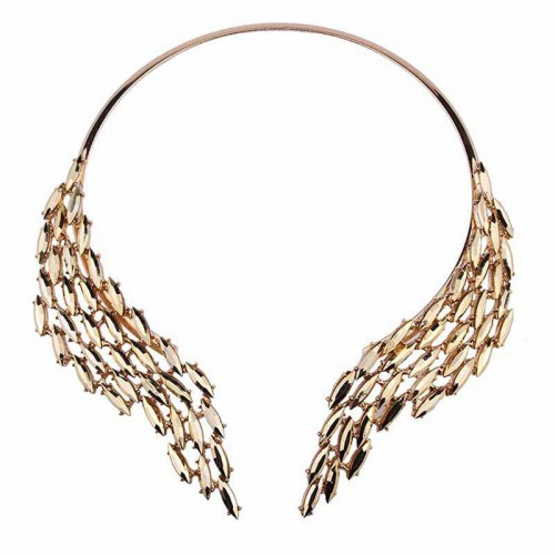 Gold Angel Wing Choker