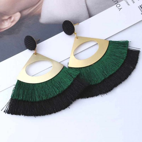 Bohemia Ear Ring (ASD70)(Green)