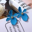 Daisy Ear Ring (Blue)