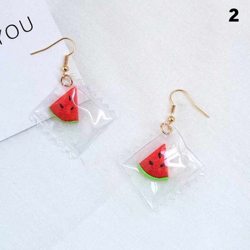 Watermelon Ear Ring