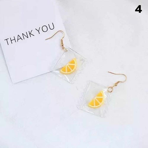 Lemon Ear Ring