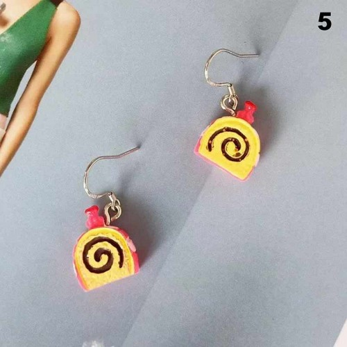 SwissRoll Ear Ring