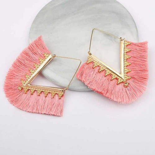 Tribal Inspired Ear Ring (Pink)