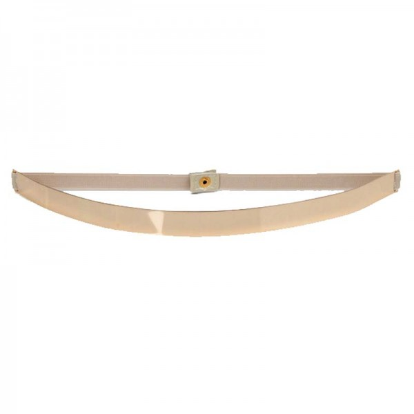 Beige Metal Belt (BLTA06)