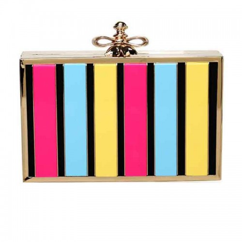 Colourful Acrylic Clutch
