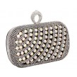 Rhinestone Rectagular Clutch