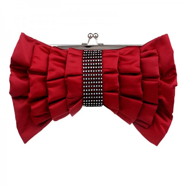 Red Ribbon Clutch