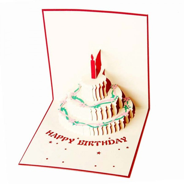 Happy Birthday 3D Gift Card