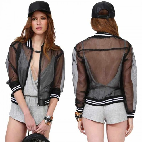 Sheer Sporty Jacket