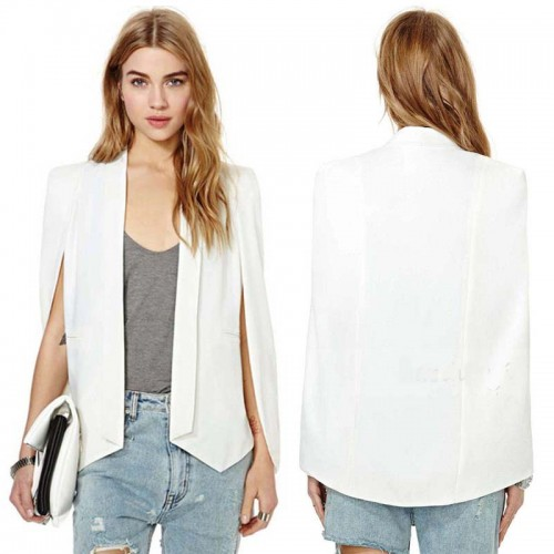 White Cape Jacket