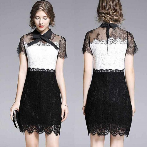 Ribbon Lace Dress