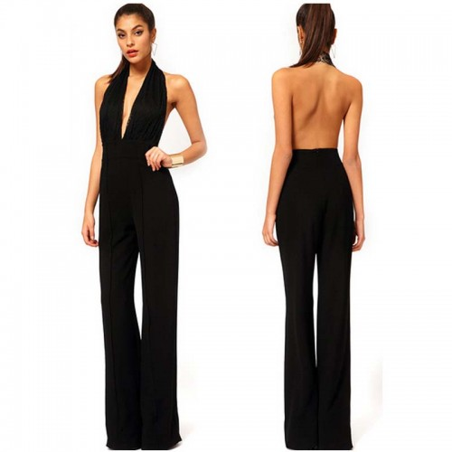 Sexy Backless Jumpsuit (Size M,L)
