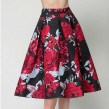 Floral Umbrella Skirt (FSAT116)