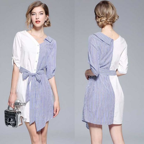 Irregular Shirt Dress