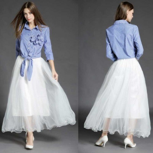Shirt With TuTu Skirt (Set)