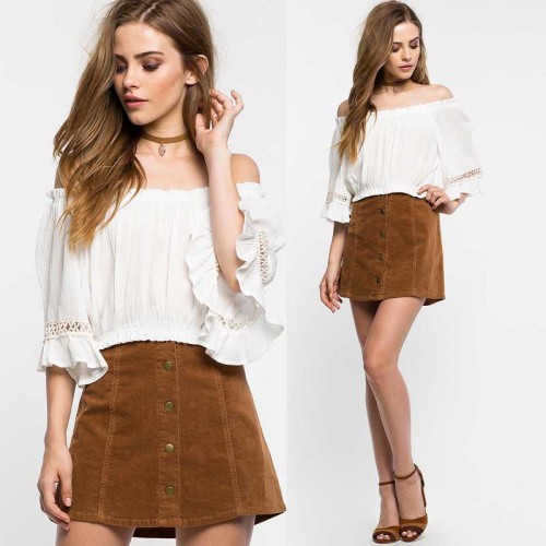 Off Shoulder Bohemia Top