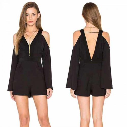 Crop Shoulder Romper (SIze XS)