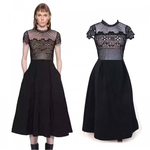 Sheer Lace A Dress