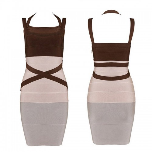 Criss-Cross Bandage Dress