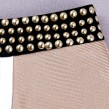 Rivet Details Colour Block Bandage Dress