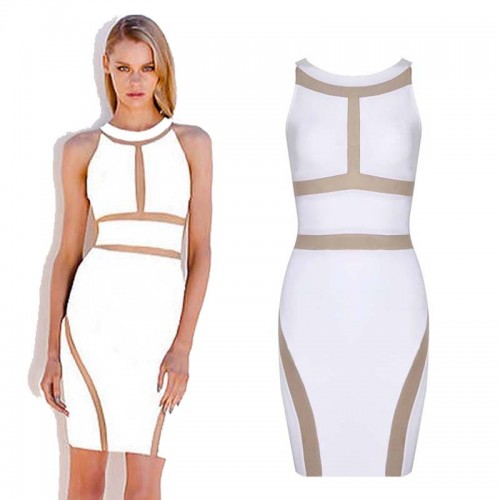 Halter Short Bandage Dress