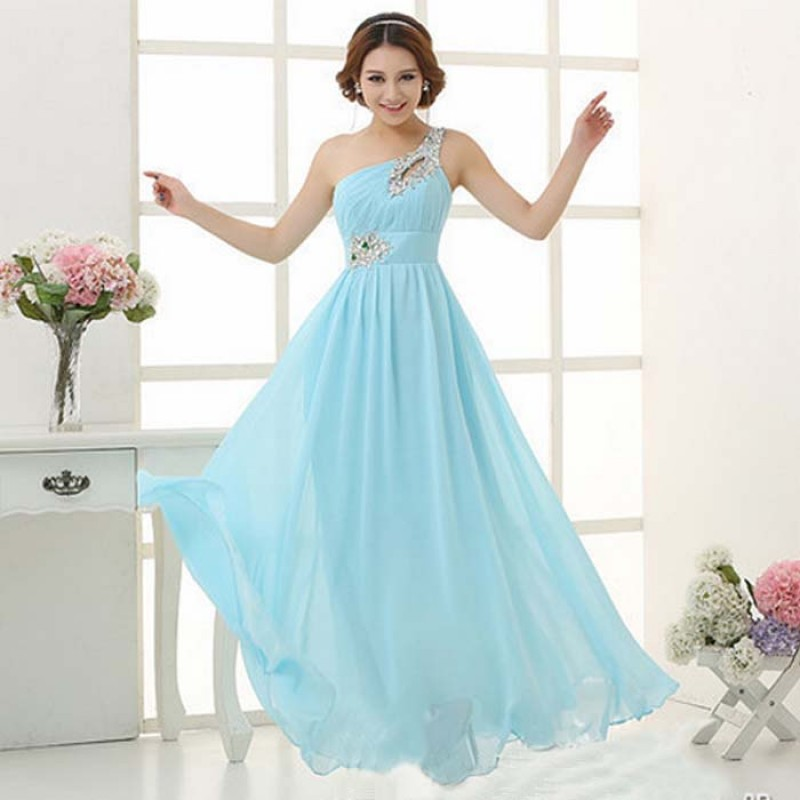 Chiffon long toga evening dress with stone for Toga style wedding dress