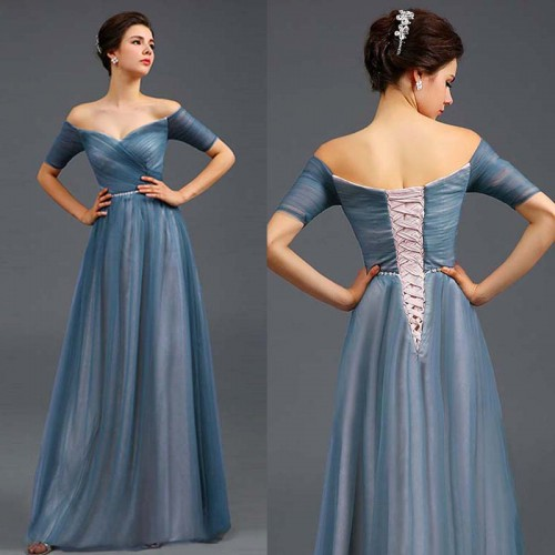Off Shoulder Sweet Heart Gown