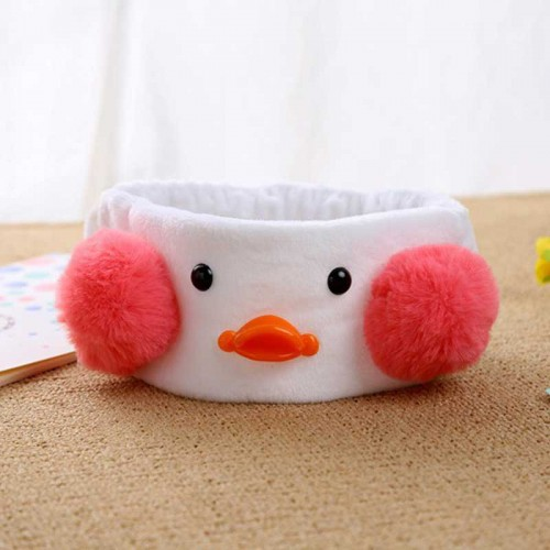 Duckling Elastic Hair Band (White)