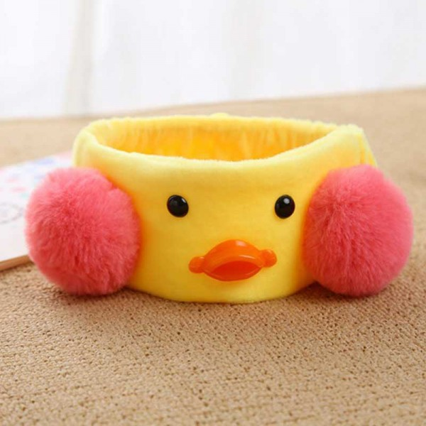 Duckling Elastic Hair Band (Yellow)
