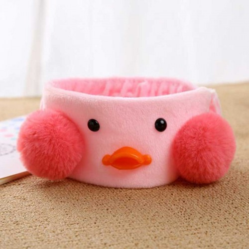 Duckling Elastic Hair Band (Pink)