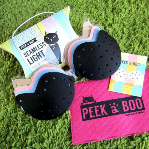 2 Sets Seamless Light Stick On Bra (THIN & LIGHT) (SUPER STICKY) (Value Set)