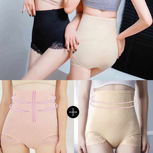 (PICK 2) Stretchable  Waist Shaper + Butt Lift (All Size)