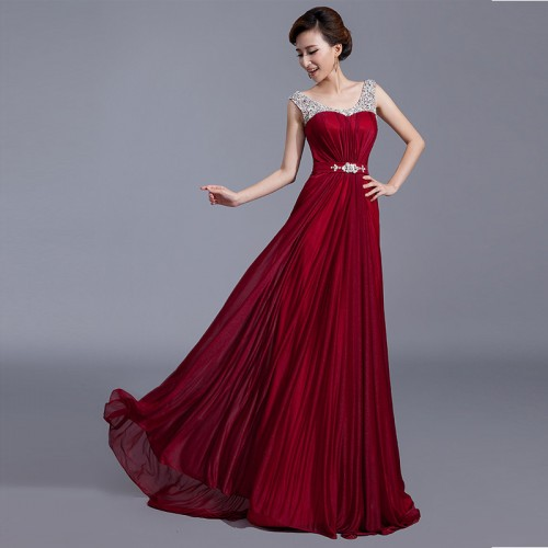 Sweet Heart Shimering Long Evening Gown