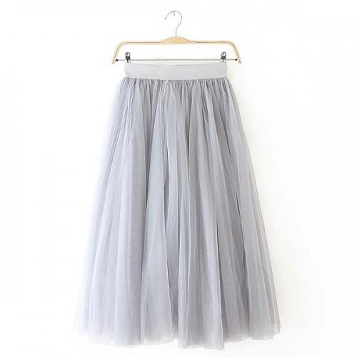 Grey Tutu Skirt
