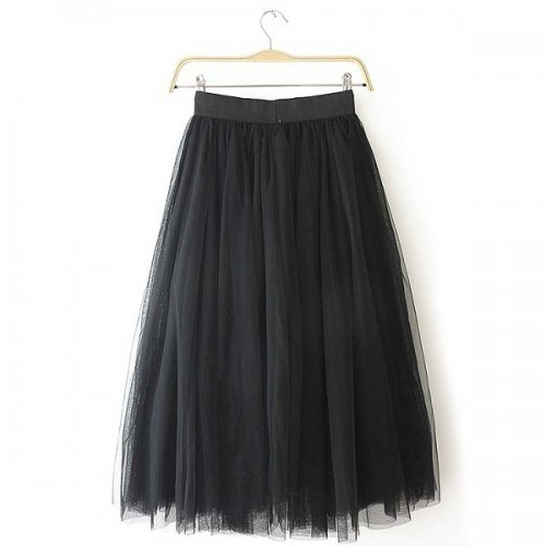 Black Tutu Skirt (Free Size)