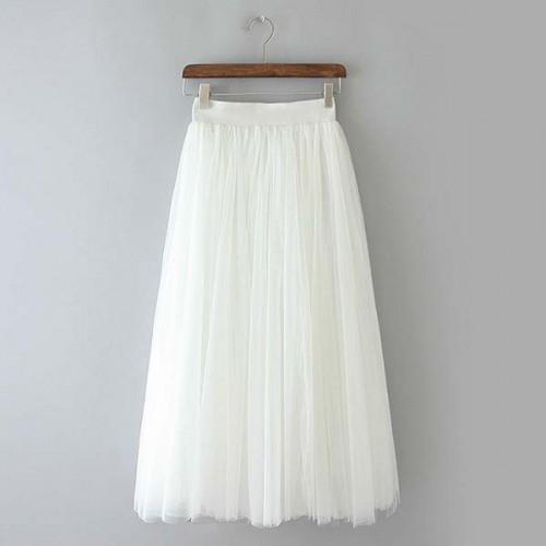 White Tutu Skirt (FREE Size)