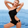 Crop Waist Swimming Suit