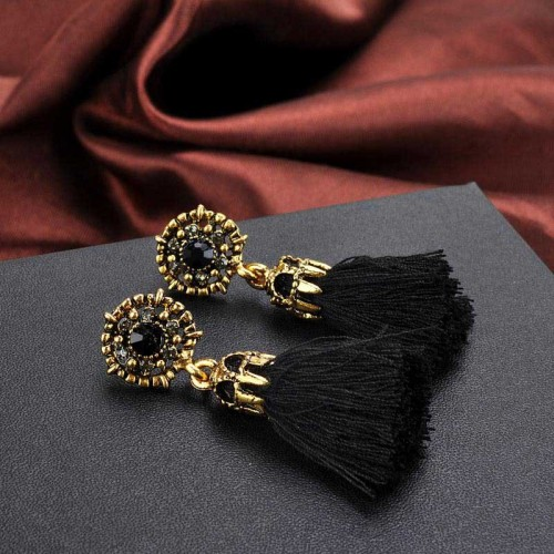 Black Tribal Ear Ring