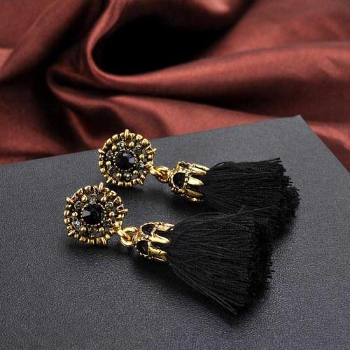 Black Tribal Ear Ring