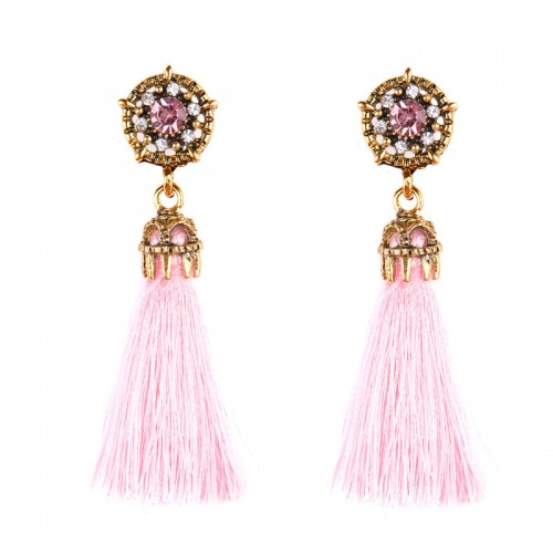 Pink Tribal Ear Ring