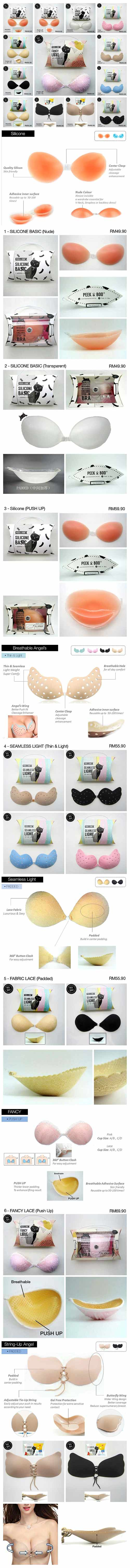 c0e97f3948 We have variety types of Stick on Bra to fullfill your Needs! For More  http    beautyone.com.my Stick-On-Bra